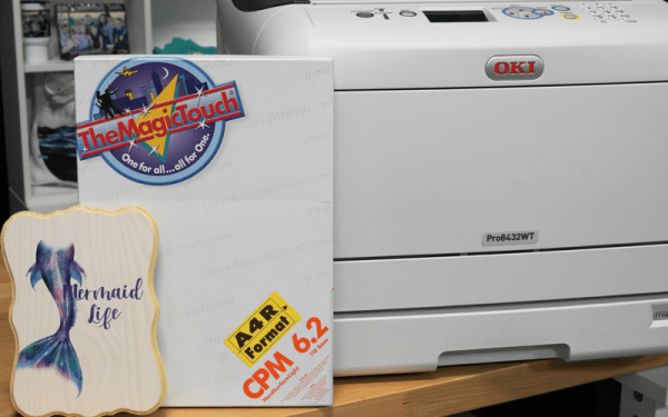 Decorating With TheMagicTouch CPM 6.2 Hard Surface Heat Transfer Paper