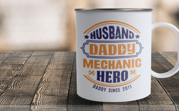 5 Father's Day Sublimation Gifts that Dad Will Dig