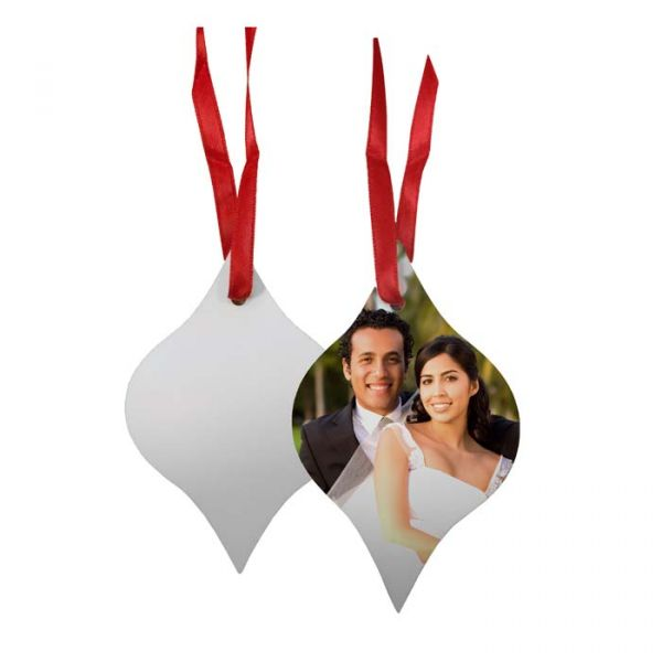 Tapered Borderless Holiday Ornament
