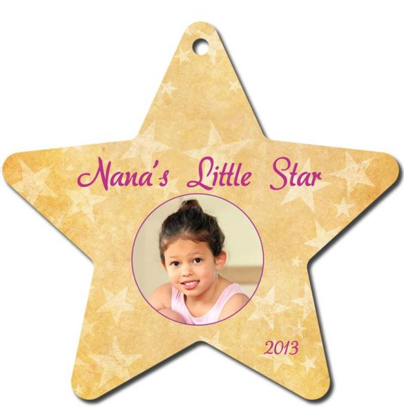 Two-Sided Star Holiday Ornament