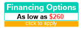 Financing options as low as $260 per month
