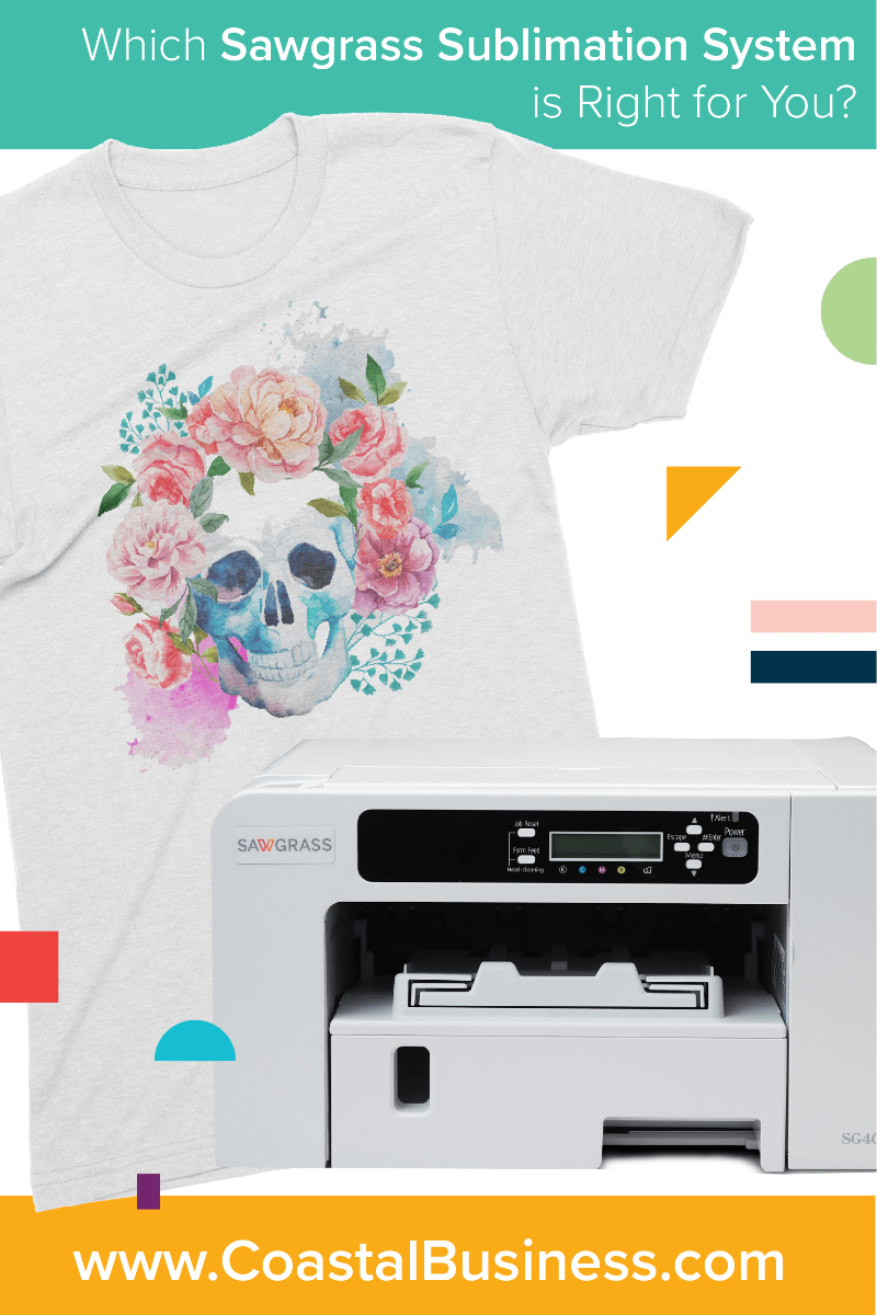 Which Sawgrass Sublimation System is right for you? Compare the Sawgrass Virtuoso SG400, SG800 and VJ 628 to find out which sublimation printer is the right fit for your business.