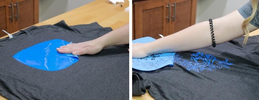 Peeling FOREVER Flex Soft A-Foil from T-Shirt