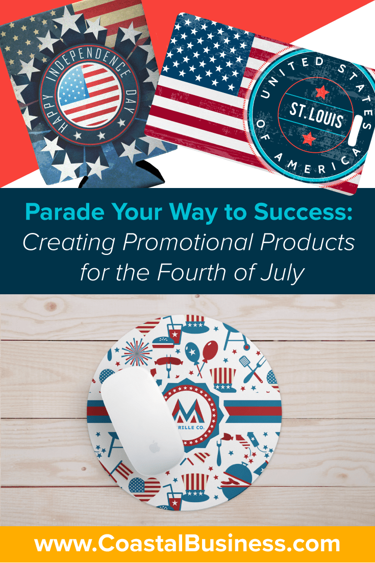 Learn how you can create custom promotional products to capitalize businesses' demand for them on the Fourth of July and other holidays!