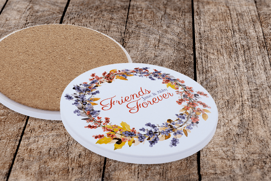 Decorated Sublimation Coasters