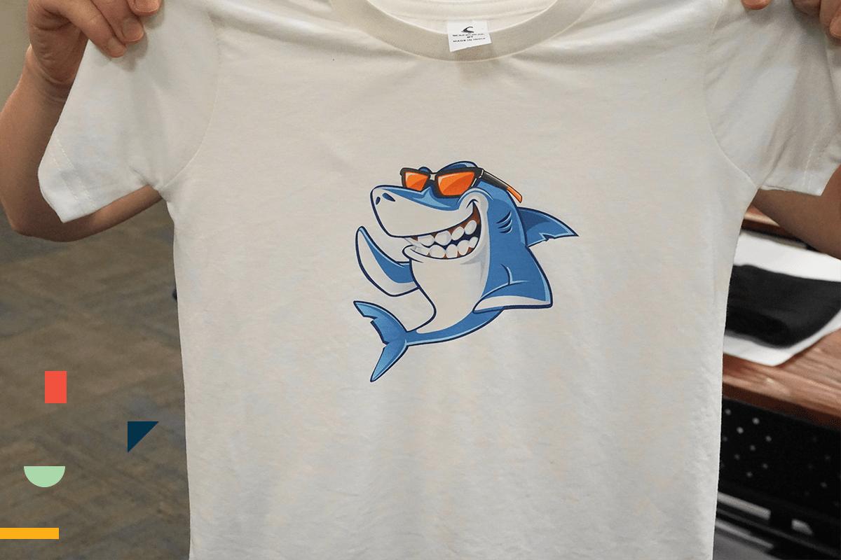 Finished T-Shirt Made With Siser EasySubli Heat Transfer Vinyl | Coastal Business