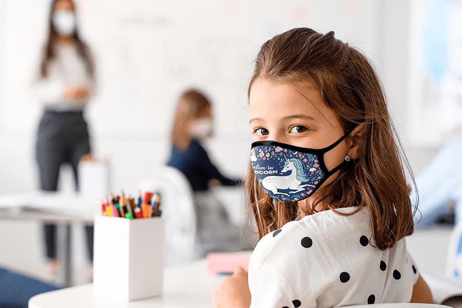 Sublimation Kids Face Masks