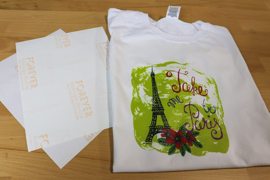Sublimation on Cotton T-Shirt with FOREVER Subli-Light