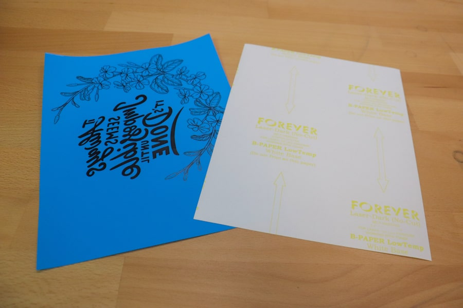 FOREVER Flex Soft A-Foil and B-Paper Sheets