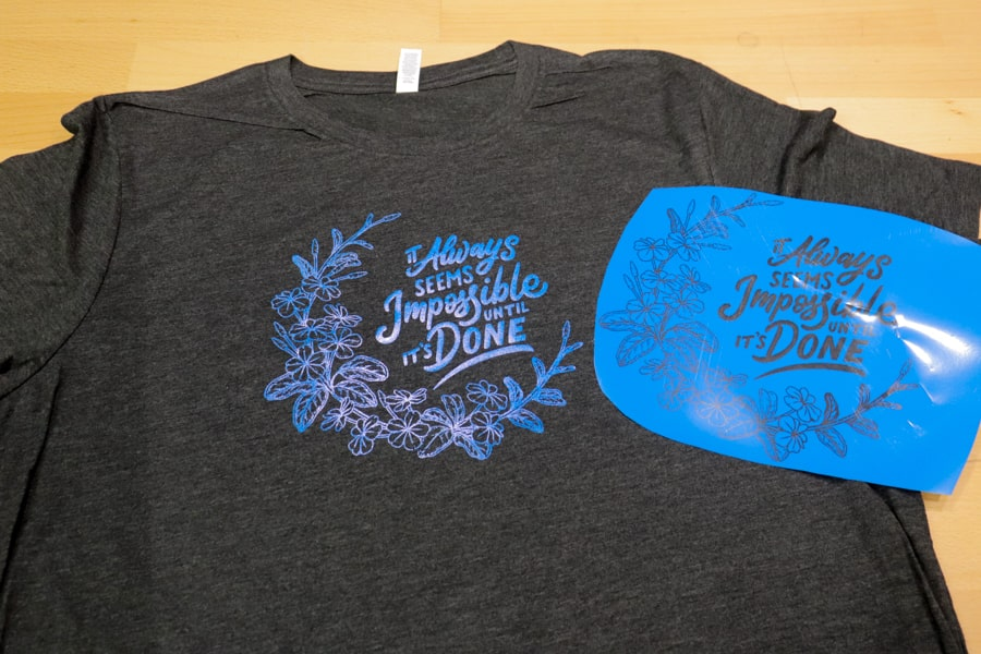 Finished T-Shirt with FOREVER Flex Soft