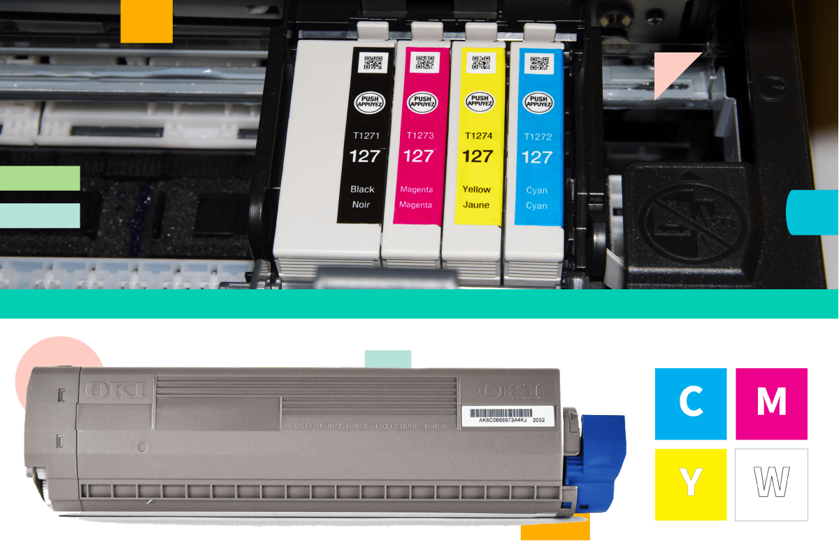 Inkjet and Laser Cartridge Comparison | Coastal Business Supplies