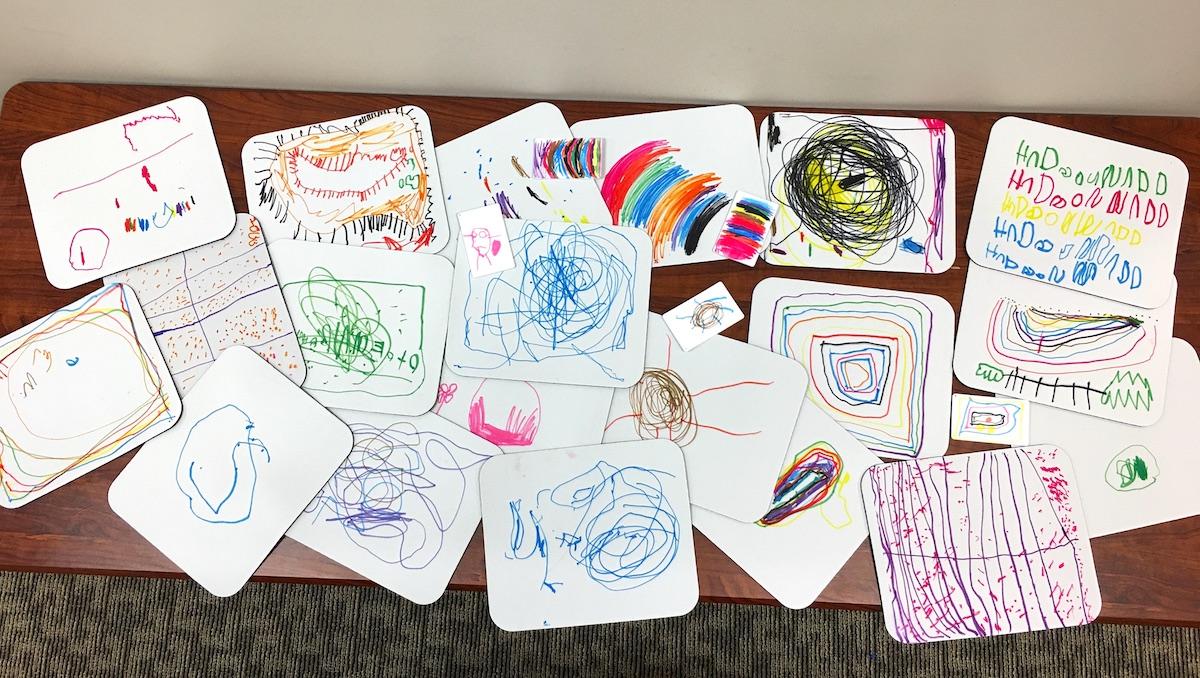 Kids Drawings on Mousepads - Artesprix Sublimation Markers