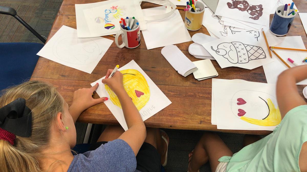 Kids Coloring Smiley Faces - Artesprix Sublimation Markers