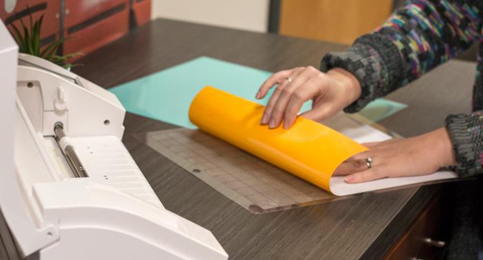 htv heat transfer vinyl silhouette cutter vinyl coastal business supplies yellow vinyl mint vinyl cutting mat