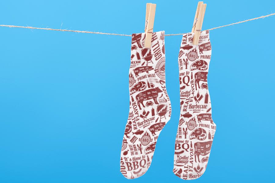 Sublimation Socks | Coastal Business Supplies