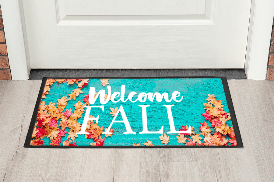 Decorated Sublimation Doormat