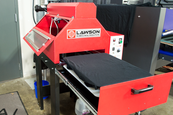 dtg printing pretreatment machine lawson direct to garment coastal business supplies