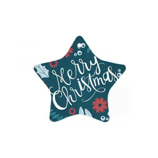Two-Sided Star Polymer Ornament